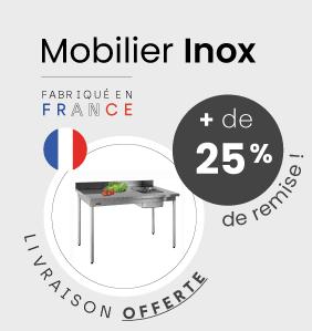 mobilier inox