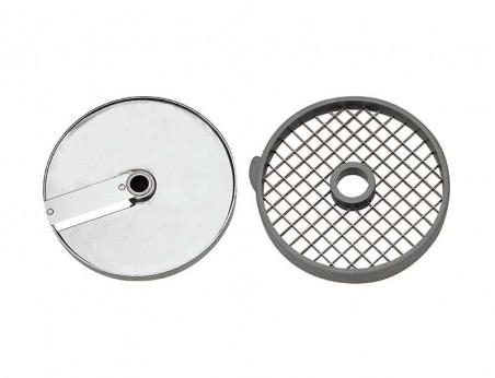 Équipement disque pour macédoine (Diamètre 175 mm)  Taille de coupe-10 x 10 x 10 mm