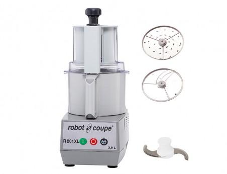 Robot Coupe R201 XL : Combiné Cutter & Coupe-légumes