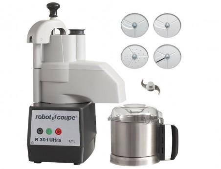 Robot Coupe R301 Ultra : Combiné Cutter & Coupe-légumes